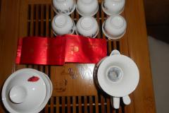 ホテルのお茶セット